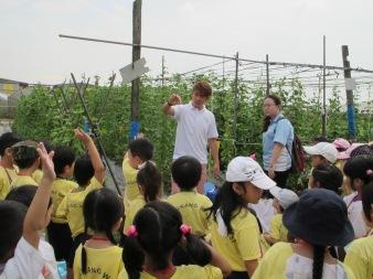 Quan Fa Organic Farm Tour kids